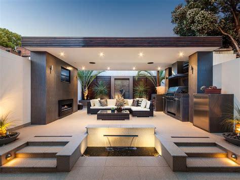 fresh  modern outdoor kitchens modern outdoor