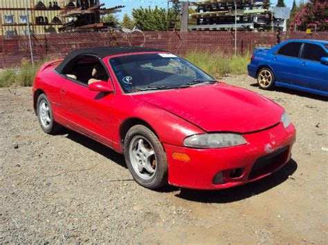 1999 Mitsubishi Eclipse Mpg by 1999 Mitsubishi Eclipse Spyder Information And Photos