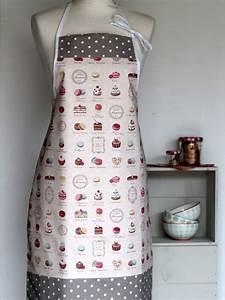 Tablier De Cuisine Femme : tablier femme p tisseries creacoton ~ Teatrodelosmanantiales.com Idées de Décoration