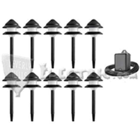 malibu low voltage landscape lighting kit 10 lights