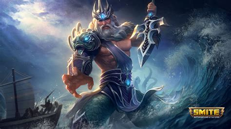 Smite's Celestial Voyage Patch Adds Poseidon Remodel And