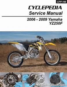 Yamaha Yz250f Cyclepedia Printed Motorcycle Service Manual
