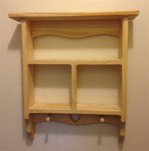 cabinet hanging shelf vintage wooden curio cabinet display wooden shelf decor