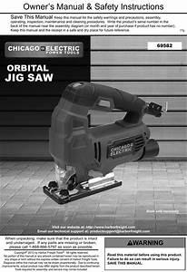 Manual For The 69582 Orbital Jigsaw