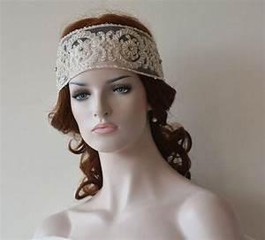 Wedding Lace Headband Wedding Hair Accessory Bridal