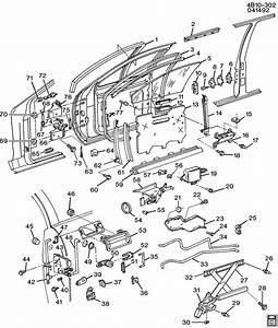 Buick Roadmaster Motor  Front Door Window Regulator