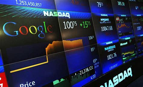 tech suffer large sell  nasdaq drops