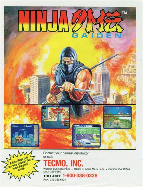 The Arcade Flyer Archive Video Game Flyers Ninja Gaiden