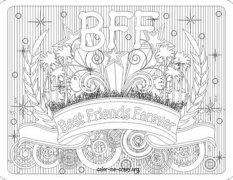 Bff Ketting Kleurplaten by Bff Coloring Pages