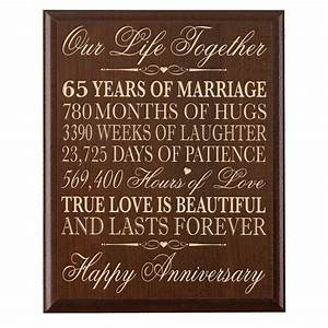 cool 65th wedding anniversary decorations 2 images With 65th wedding anniversary gifts