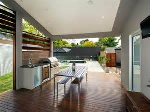 Patio Flooring Ideas Perth by Outdoor Living Design With Bbq Area From A Real Australian
