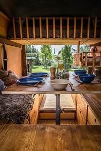 Wohnmobil Innenausbau Holz : lifeforfive wohnmobil ausbau blick auf einen gedeckten ~ Jslefanu.com Haus und Dekorationen