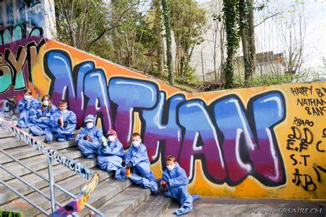 conception chambre anniversaire graffiti de nathan anniversaire en suisse