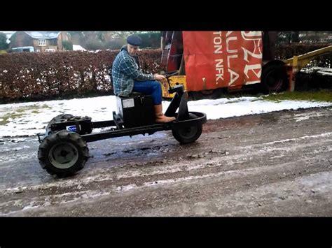 Martin Bonser Kohler Powered Three Wheel Work Truck First