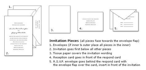how to stuff wedding invitations assembling wedding invitations invitation consultants