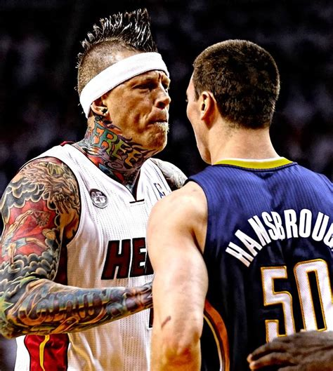 Chris Andersen, O Birdman Tatuado Do Miami Heat Visual E