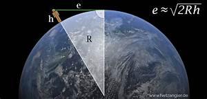 Entfernung Von Gewitter Berechnen : entfernung zum horizont berechnen ~ Themetempest.com Abrechnung