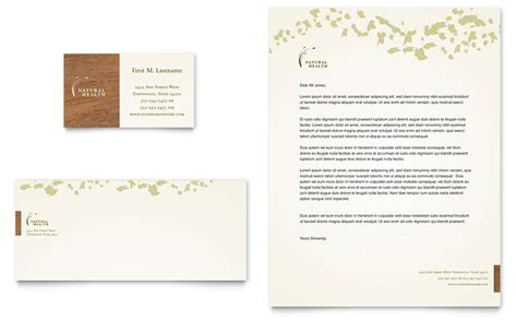 Naturopathic Medicine Business Card & Letterhead Template Trec Business Card Rules Farm Stand With Resume Design Startup What Makes A Out Credit Cards For Real Estate Investors Greeting Start Up On Cardstock