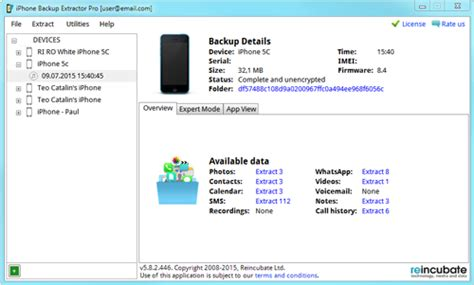 iphone backup extractor activation key iphone backup extractor 7 5 activation key