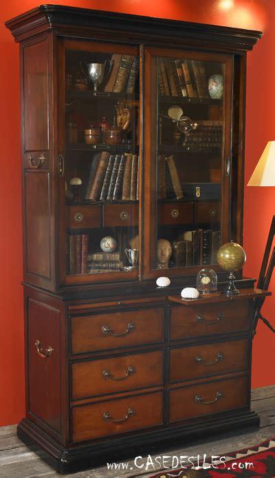 bibliotheque bois coloniale casedesilescom