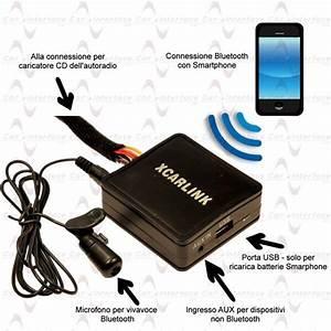 Fiat Sedici 16 Interfaccia Vivavoce Bluetooth E Streaming Audio Xcarlink
