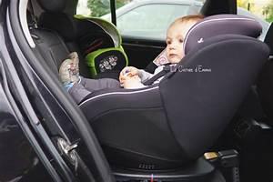 Crash Test Siege Auto : on a test le si ge auto spin 360 de joie le carnet d 39 emma ~ Medecine-chirurgie-esthetiques.com Avis de Voitures