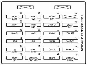 02 Envoy Fuse Diagram