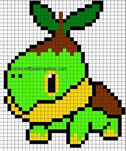 Turtwig Minecraft template | pixelmon | Pinterest ...
