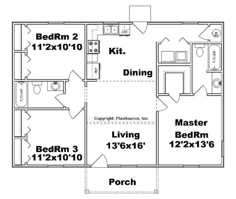 3 bedroom floor plans with garage 3 bedroom house plans no garage beautiful small house