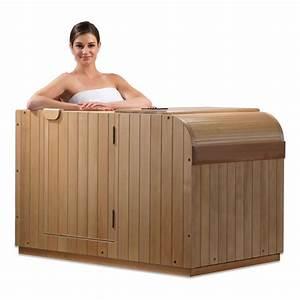 1 Mann Sauna : shuttle 1 person half body infrared sauna ~ Articles-book.com Haus und Dekorationen