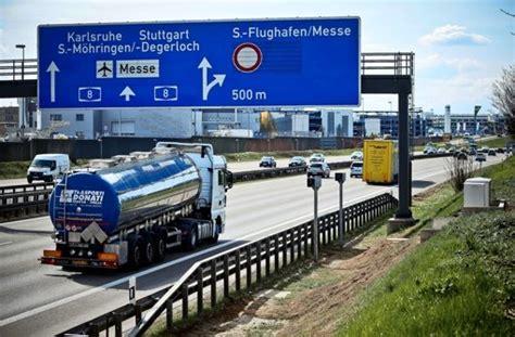Autobahn Tempolimit Nach Auffahrt by Auf Der A 8 Autobahn Blitzer T 228 Glich 1500 S 252 Nder