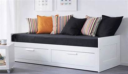 Ikea Bed Storage Beds Brimnes Guest Drawers
