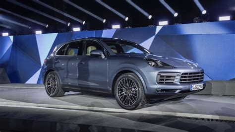 2018 Porsche Cayenne Review  Top Speed