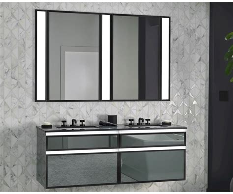 Robern Lighting by Robern Profiles Collection Vanity Mirror And Lighting