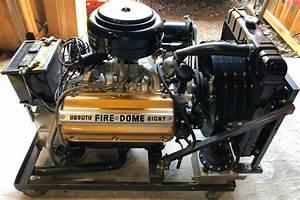 No Reserve  Desoto Firedome Hemi Engine For Sale On Bat