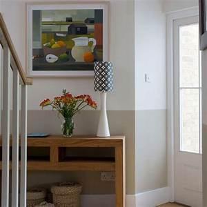 Opt for artwork decorating ideas small hallways