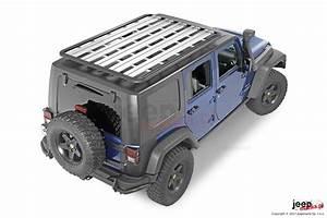 AEV Roof Rack Platform - 4 doors JK - Jeepmania