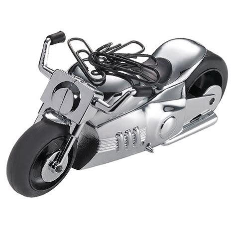 cadeau bureau homme presse papier moto aimantée décoration de bureau idée de