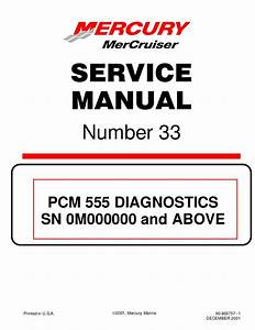 Mercury Mercruiser 8 1s Horizon Diagnostics Service Repair Manual Sn Uff1a U2026