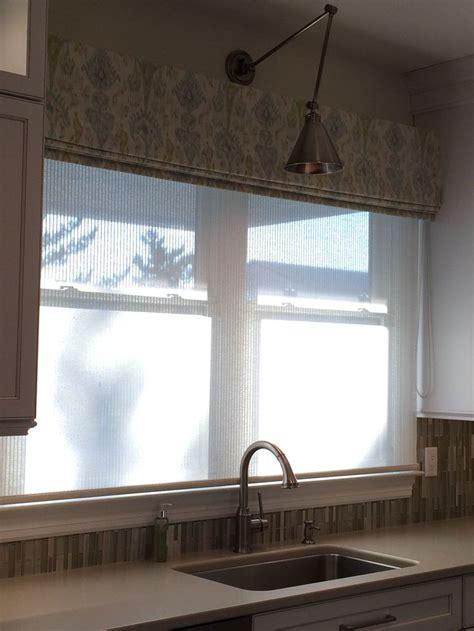 kitchen valance lighting ikat fabric valance translucent woven shade on 3431