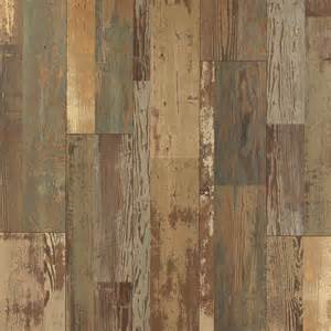 shop pergo max stowe painted pine wood planks laminate flooring sle at lowes com