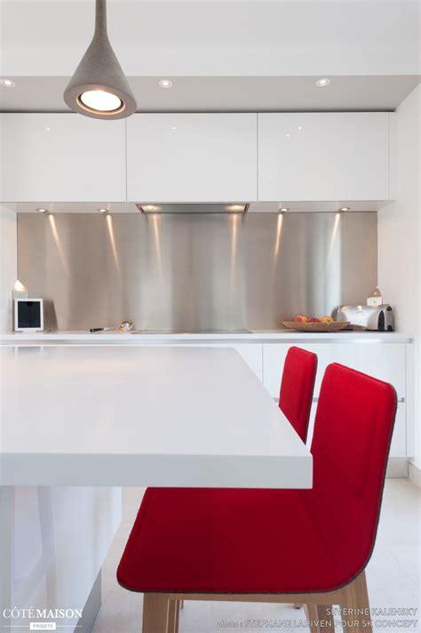 cuisine design italien plan de travail laqu blanc brillant projet cuisine design
