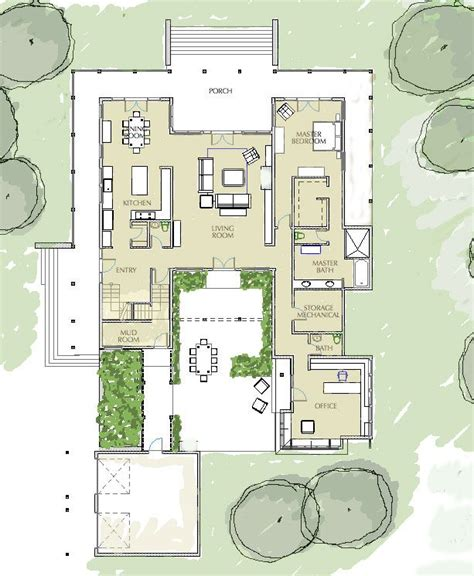 courtyard home plans the 25 best ideas about courtyard house plans on