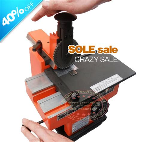 aliexpress buy metal sheet embosser manual steel
