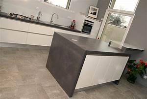 plan de travail cuisine beton romain serve With plan de travail cuisine beton