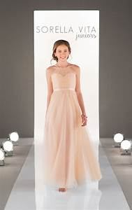 juniors tulle bridesmaid dresses sorella vita With wedding dresses for teens