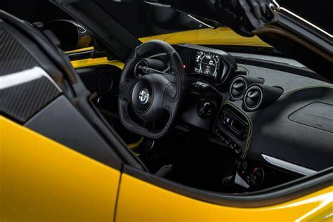 Alfa Romeo 4c Spider On Sale In Australia From ,000