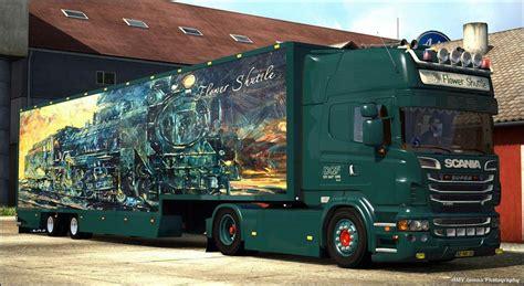 scania dqf  truck euro truck simulator  mods