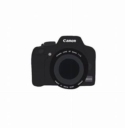 Camera Clipart Sony Canon Cameras Drawing Heart
