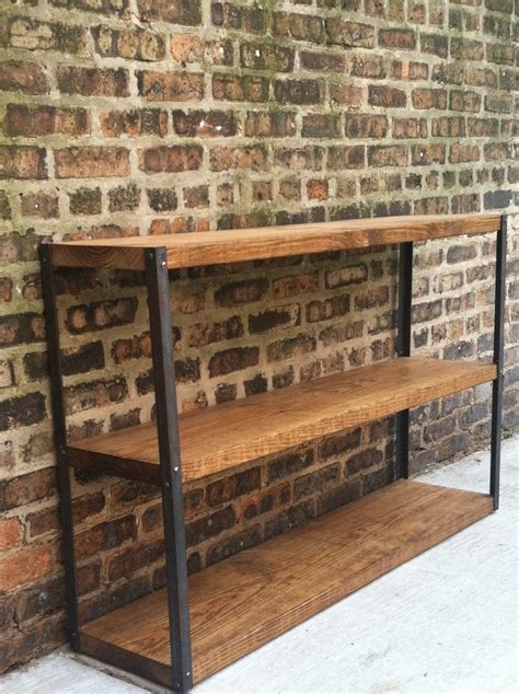 30 Wide Bookcase by Industrial Reclaimed Wood Bookcase Shelf